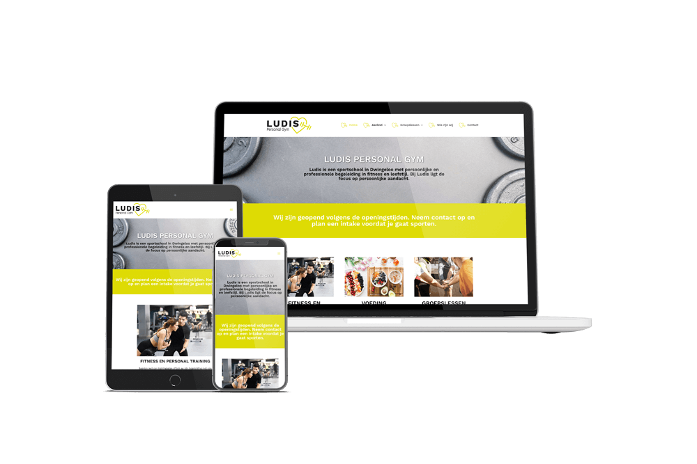website ludis personal gym
